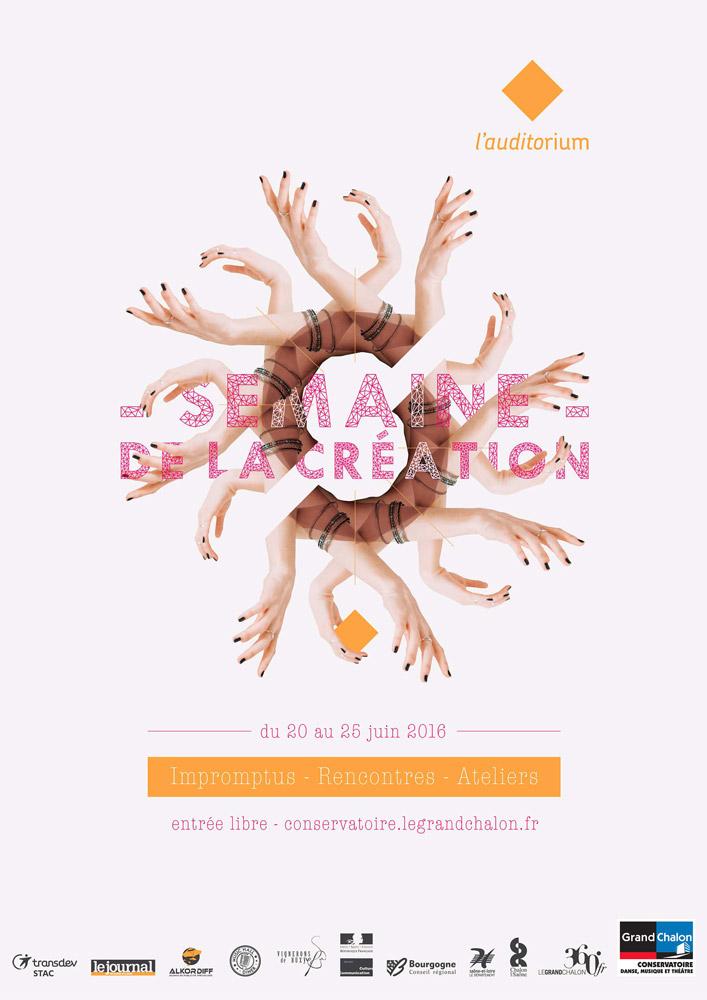 Célia RATTO | Graphiste Freelance à Annecy | Evenementiel à Chalon-sur-Saône, Festival et Semaine de la création