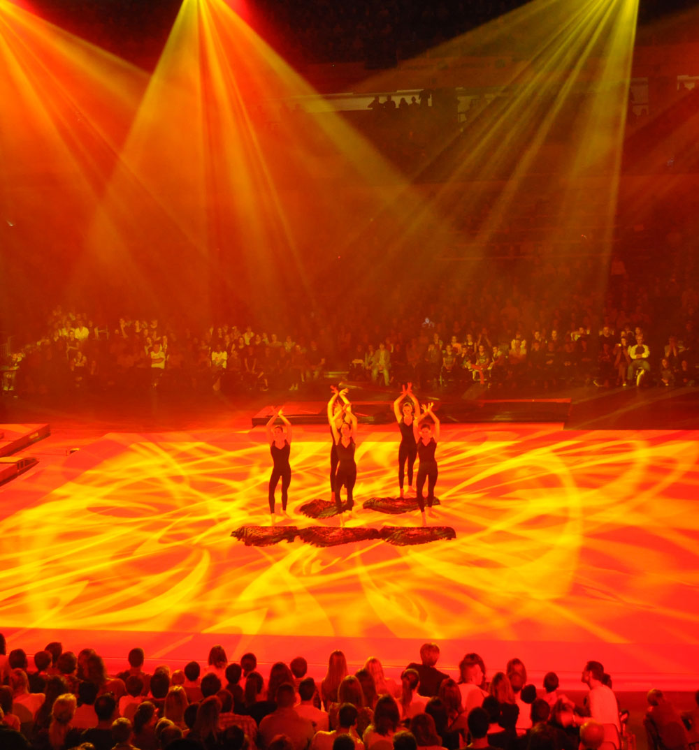 Célia RATTO | Graphiste Freelance à Annecy | Reportages photos, vidéos et rédactionnels | Gymnic Show - Lyon 2015
