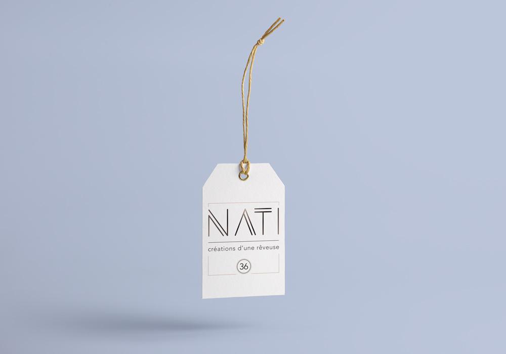 Célia RATTO | Graphiste Freelance à Annecy | NATI, créations d'une rêveuse. Création d'identité visuelle et branding