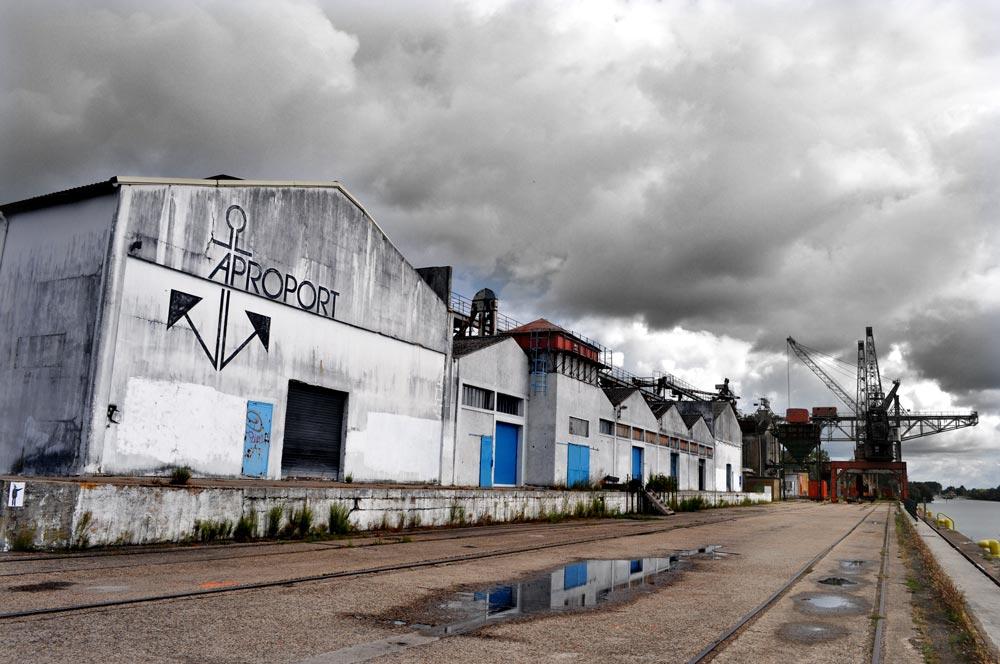 Célia RATTO | Graphiste Freelance à Annecy | Reportages photos, vidéos et rédactionnels | Port Nord - Chalon-sur-Saône