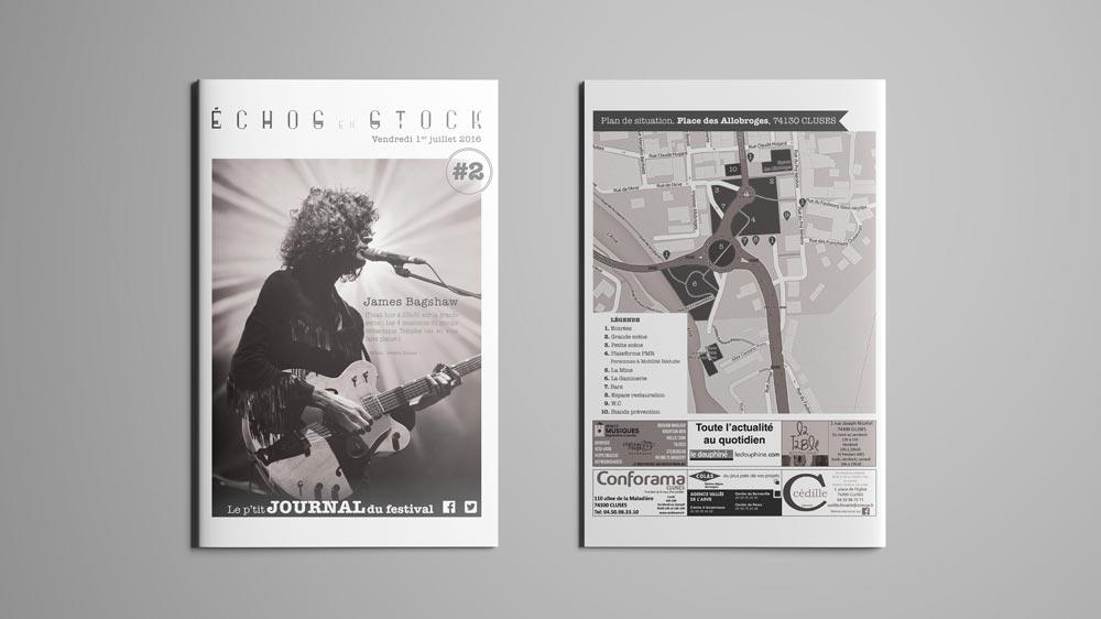 Célia RATTO | Graphiste Freelance à Annecy | Musiques en Stock 2016, Festival de musiques actuelles à Cluses. Graphisme print, teasers et reportages vidéos événementiel