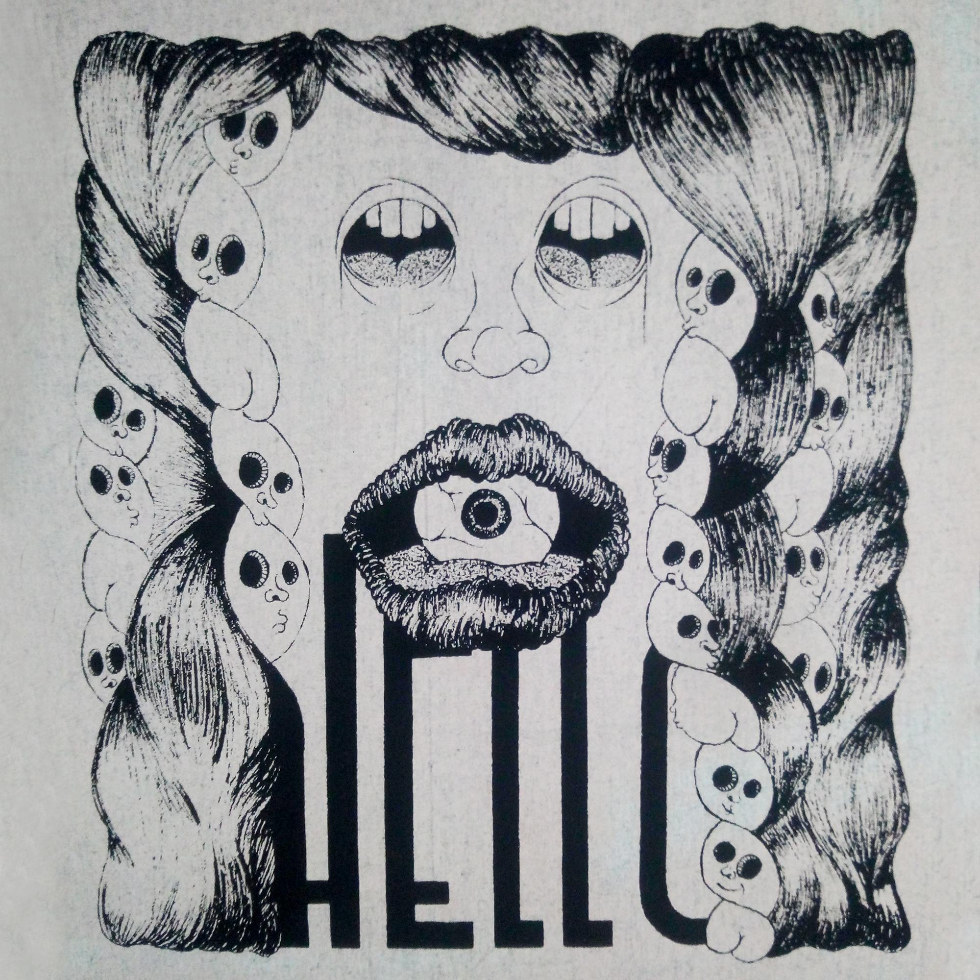 La boutique : Célia RATTO, graphiste multimédia à Annecy. Créations et Sérigraphie textile artisanale - Tote Bag Hello