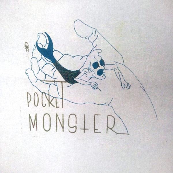 TOTE BAG POCKET MONSTER #1 & 8 - modèle unique