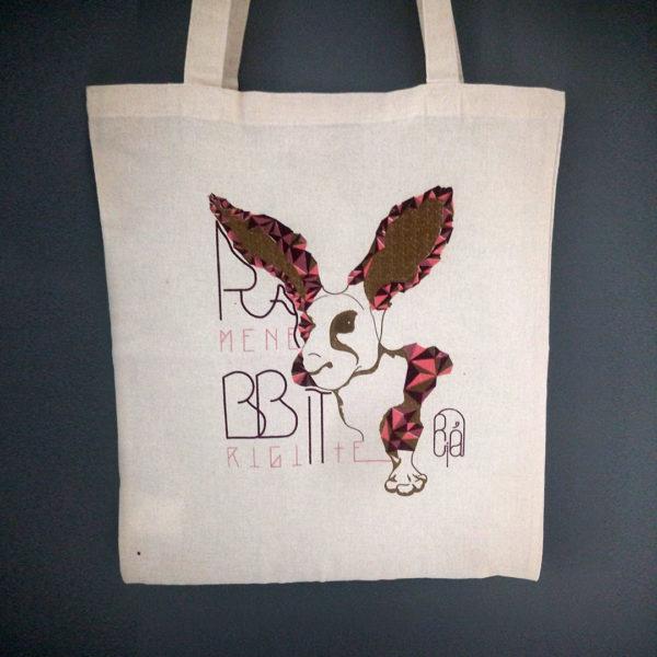 La boutique : Célia RATTO, graphiste multimédia à Annecy. Créations et Sérigraphie textile artisanale - Tote Bag BBrigiitte