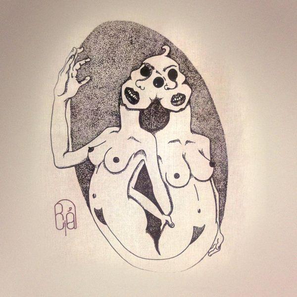 La boutique : Célia RATTO, graphiste multimédia à Annecy. Créations et Sérigraphie textile artisanale - Tote Bag Sisters