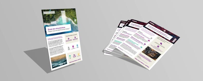 Célia RATTO | Graphiste Freelance à Annecy | Gras Savoye - Willis Towers Watson | Communication Corporate | Étude des Rémunérations 2020 mise en page flyer
