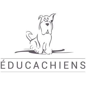 Célia RATTO | Graphisme, Illustration et Sérigraphie | Références clients | Éducachiens - éducation canine, garde d'animaux et ostéopathie en Haute-Savoie