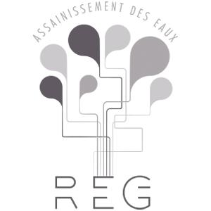 Célia RATTO | Graphisme, Illustration et Sérigraphie | Références clients | R.E.G - assainissement des eaux