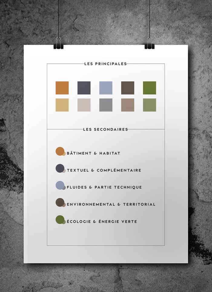 Célia RATTO | Graphiste Freelance à Annecy | Identité visuelle de Mont-Blanc Ingénierie, ingénieurs des fluides en bâtiment