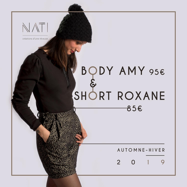 Célia RATTO | Graphiste Freelance à Annecy | Refonte du site web de NATI pour une boutique en ligne
