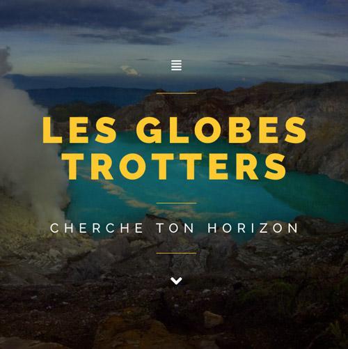 Célia RATTO | Graphiste Freelance à Annecy | Refonte du site Internet des Globes Troters Ant et Aurel avec WordPress.