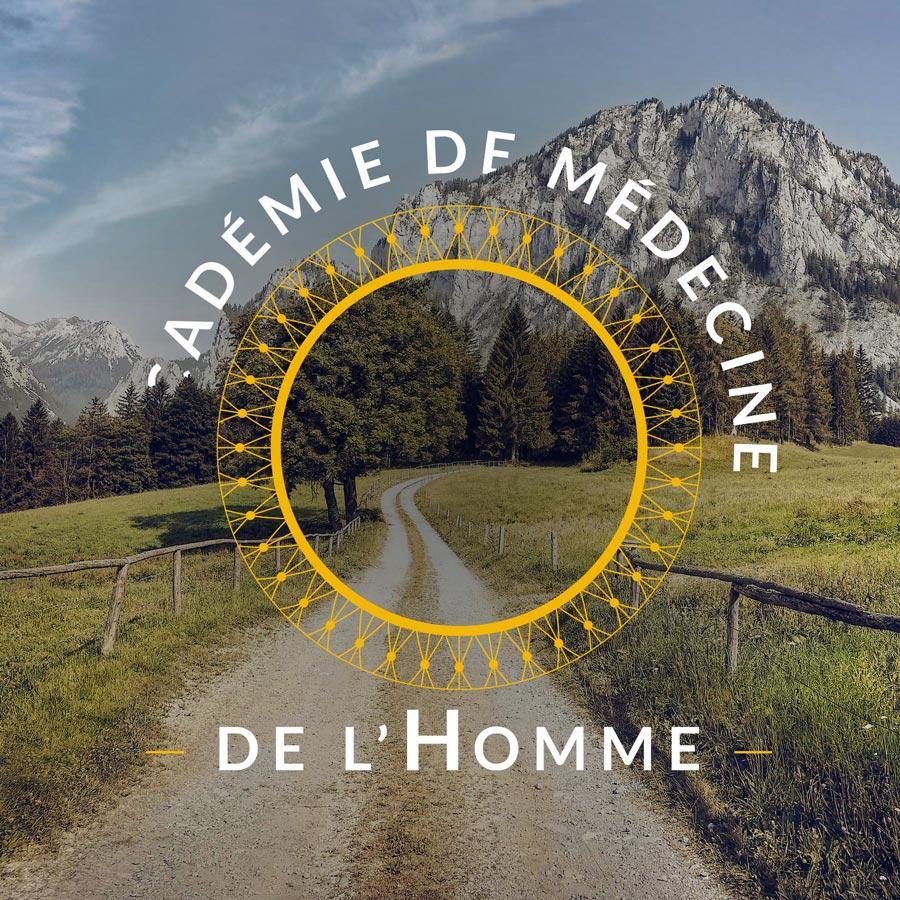 Célia - Graphiste freelance à Annecy : refonte de l'identité visuelle de l'Académie de Médecine de l'Homme
