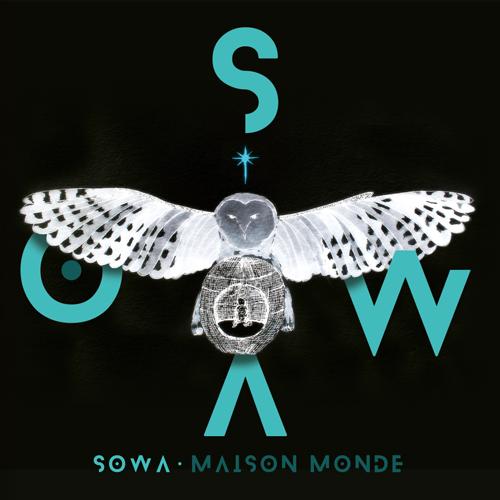 Célia - Graphiste freelance à Annecy : création de la pochette du premier EP de SOWA - Maison Monde - CD Cover